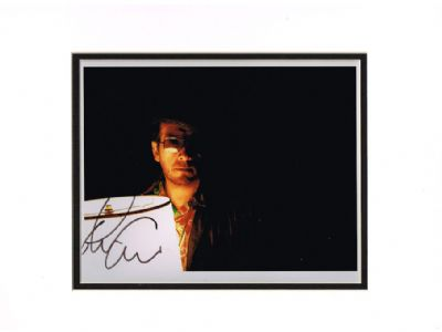 Elvis Costello Autograph Signed Photo